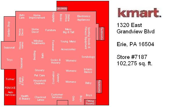 Furniture Stores Erie Pa Twin Tiers Retail: Kmart #7187