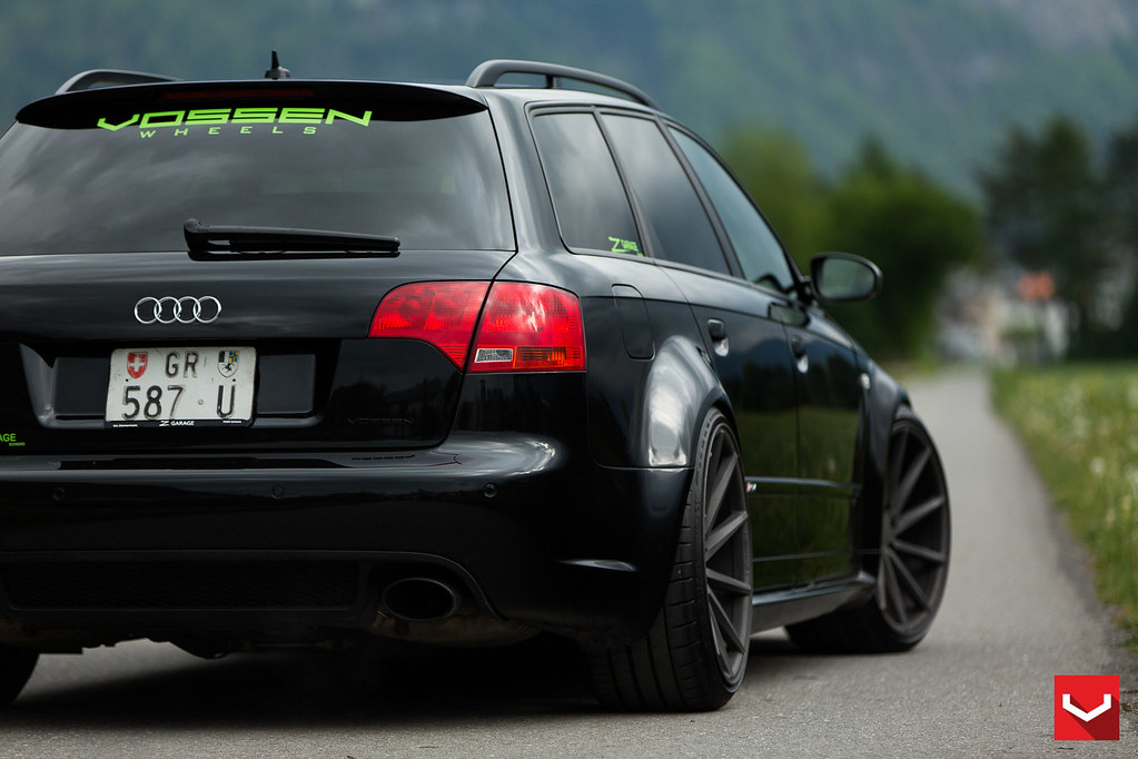 Audi B7 Rs4 On Vossen Cvt 169 Vossen Wheels 2015 1019
