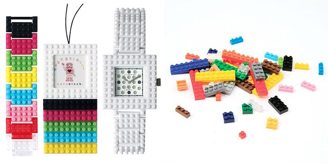 Nanoblock Time Watch