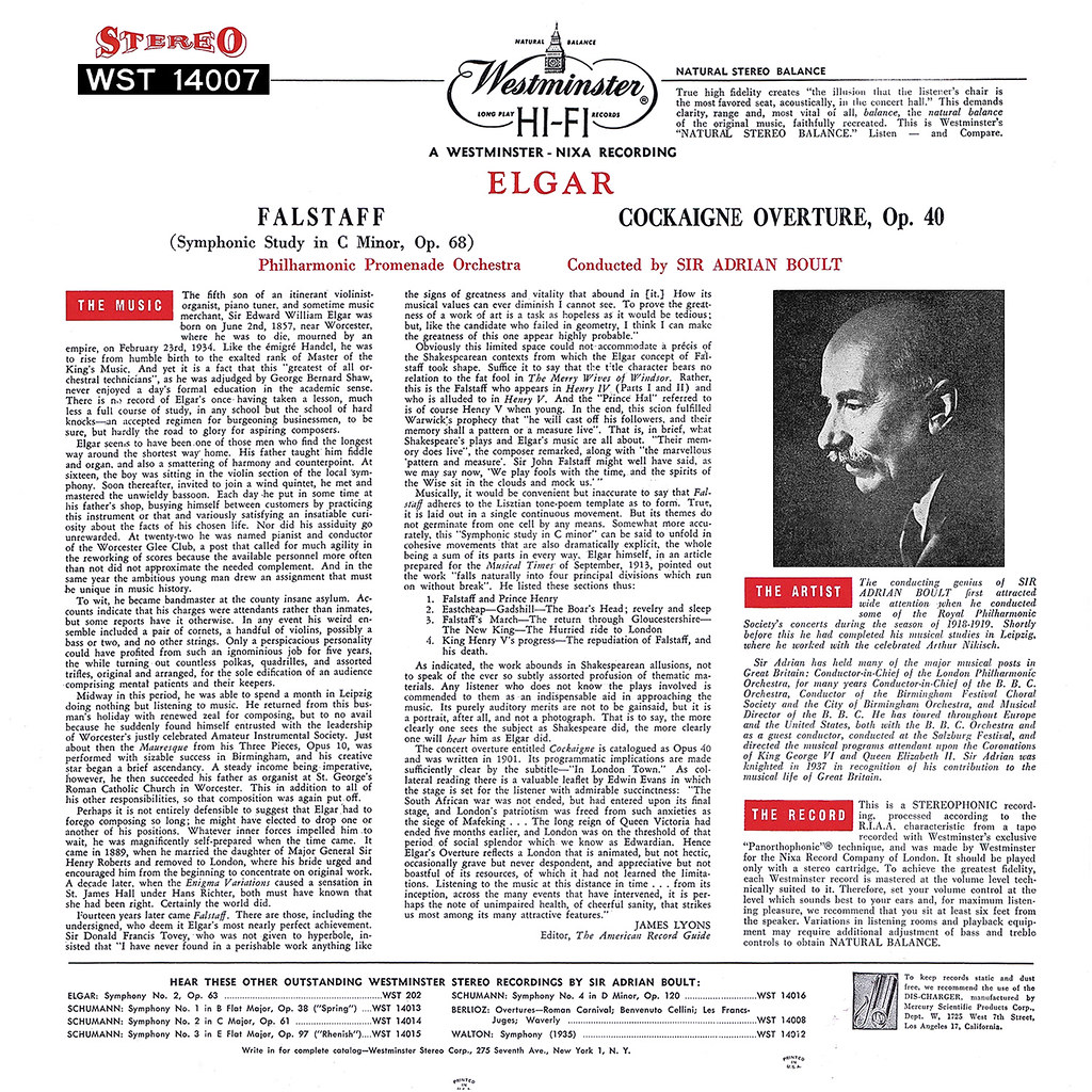 Edward Elgar - Falstaff Cockaigne Overture