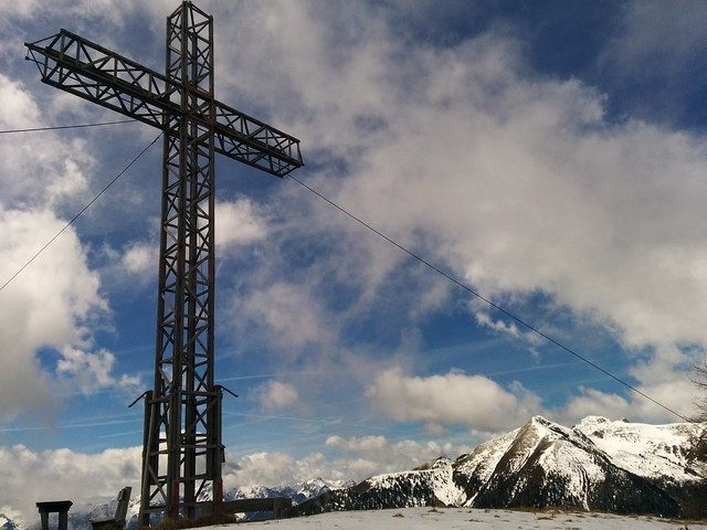 Gipfelkreuz Hörneggele Gsiesertal