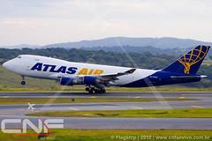 Boeing 747-400F Atlas Air N419MC