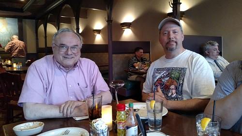 Joe Levine and Tom KAys at 2015-05 Nummis Nova meeting