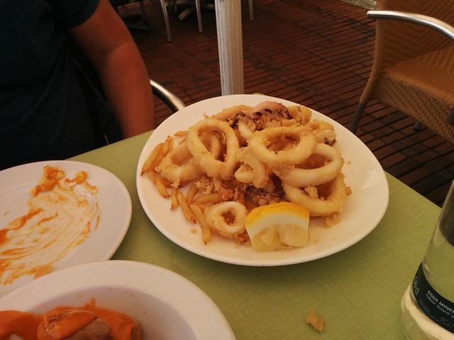 Las Palmas de Gran Canaria | La Oliva Restaurante | Calamares