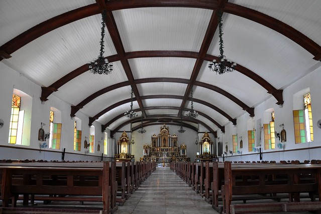 Inside the Narvacan Church aka St. Lucy Parish Church