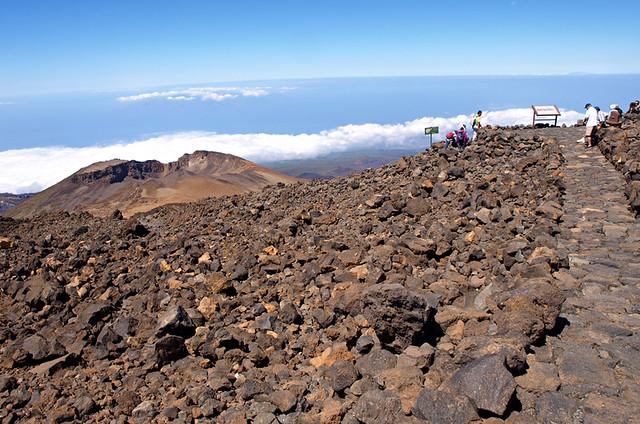 Above Pico Viejo, Mount Teide, Tenerife
