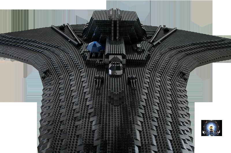 [MOC]: Destiny - Starship from Stargate Universe 31182813906_7bc01994d6_o