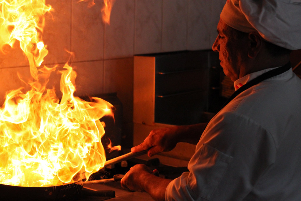 hot in the kitchen geraint rowland flickr