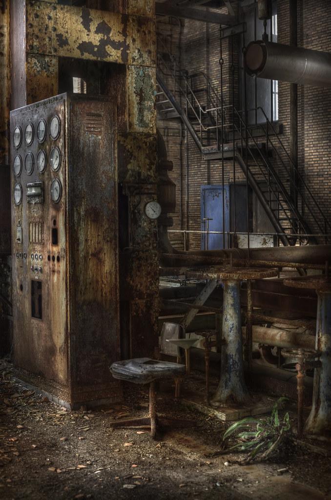 Abandoned Power Plant Explore This Vast Complex