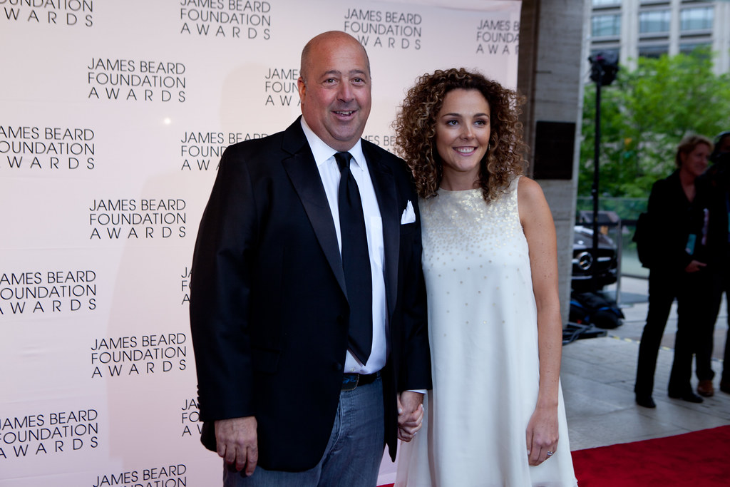 Andrew Zimmern Married To Wife Rishia Haas Since 2002 With