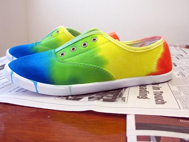 Tie Dye Shoes Converse