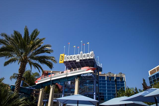 Disneyland Hotel Anaheim Room View