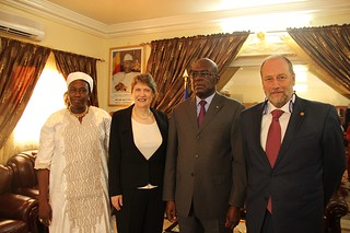 Helen Clark visit to Chad | by United Nations Development Programme