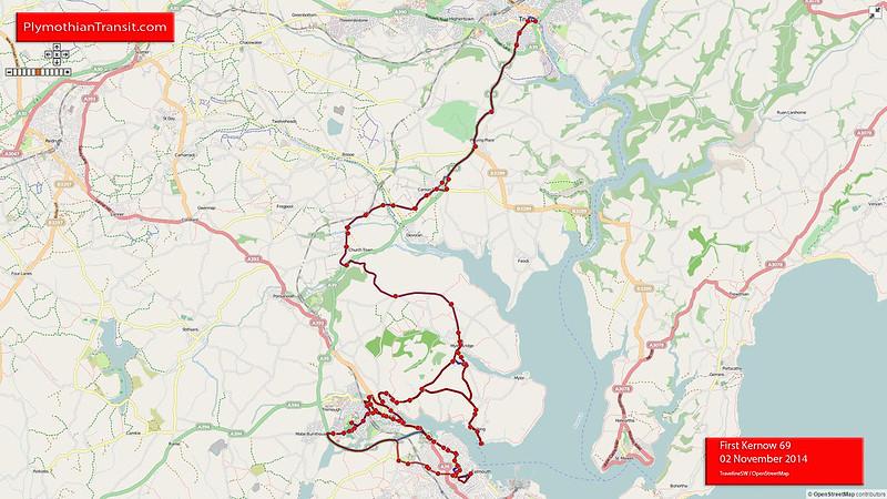 69 Mylor Bridge - Flushing - Penryn - Falmouth
