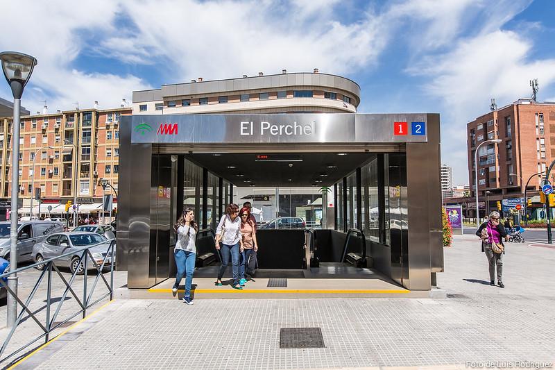 Visita al Metro de Málaga-1