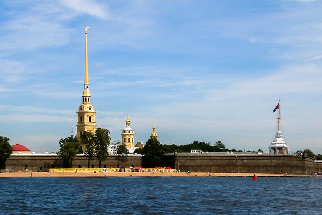 Peter and Paul Cathedral, Saint Petersburg, Russia サンクトペテルブルク、ペトロパヴロフスク聖堂