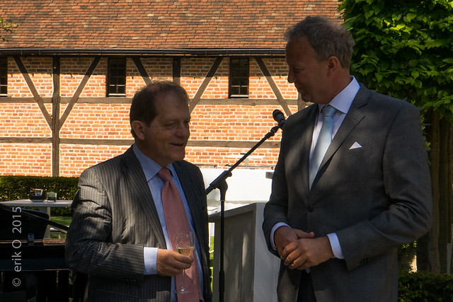 Faculty Club Leuven - New Garden Lounge - opening