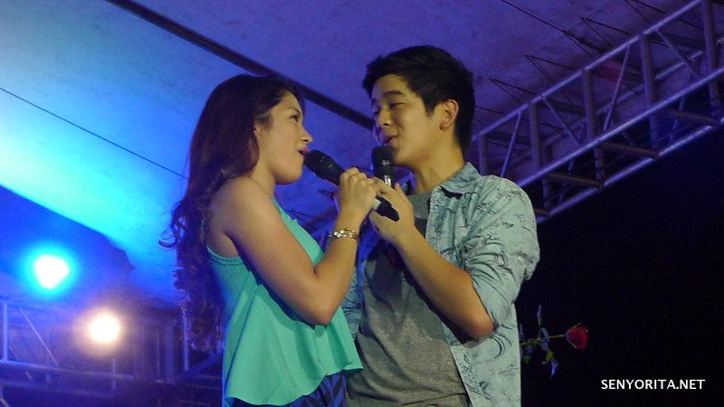 Jane Oineza and Joshua Garcia - Kapamilya Karavan in Dagupan City - Bangus Festival 2015