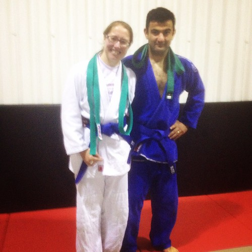 Liam - first BJJ coach & forever my jits big brother