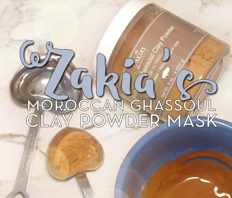 zakia's morocco moroccan ghassoul clay powder mask review (3)