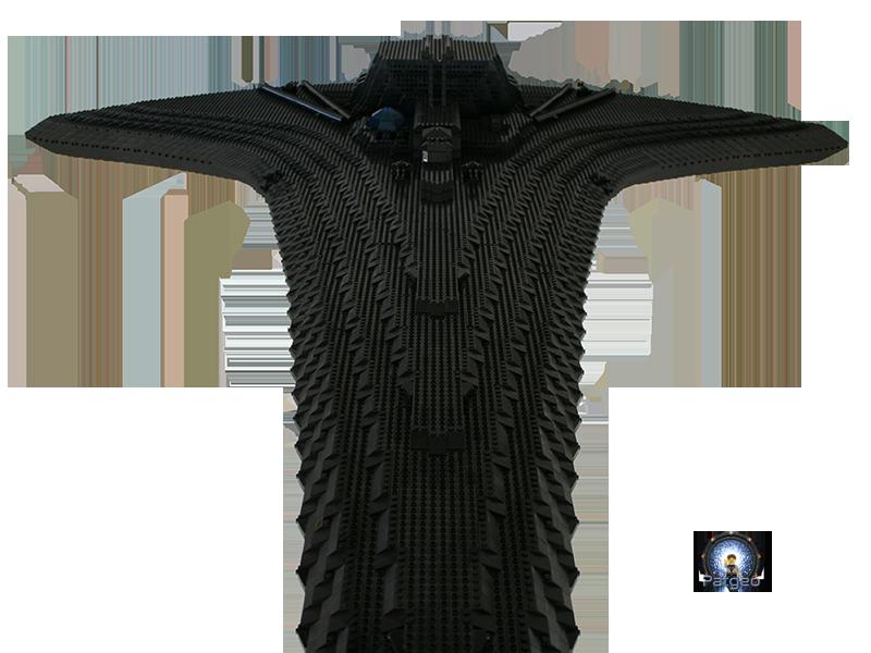 [MOC]: Destiny - Starship from Stargate Universe 30851201080_10eac19bab_o