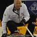 Basel Switzerland.April7-2012.Men's World Curling Championship.Canada skip Glenn Howard.CCA/michael burns photo