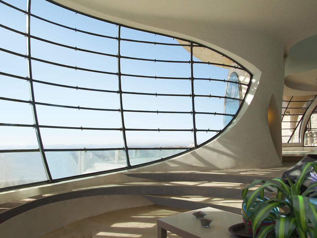 Futuristic House Biomorphism By Ephraim Henry Pavie Flickr