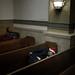 Homeless Men In Church