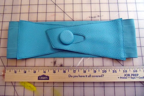 Turquoise belt measurements | by lladybird