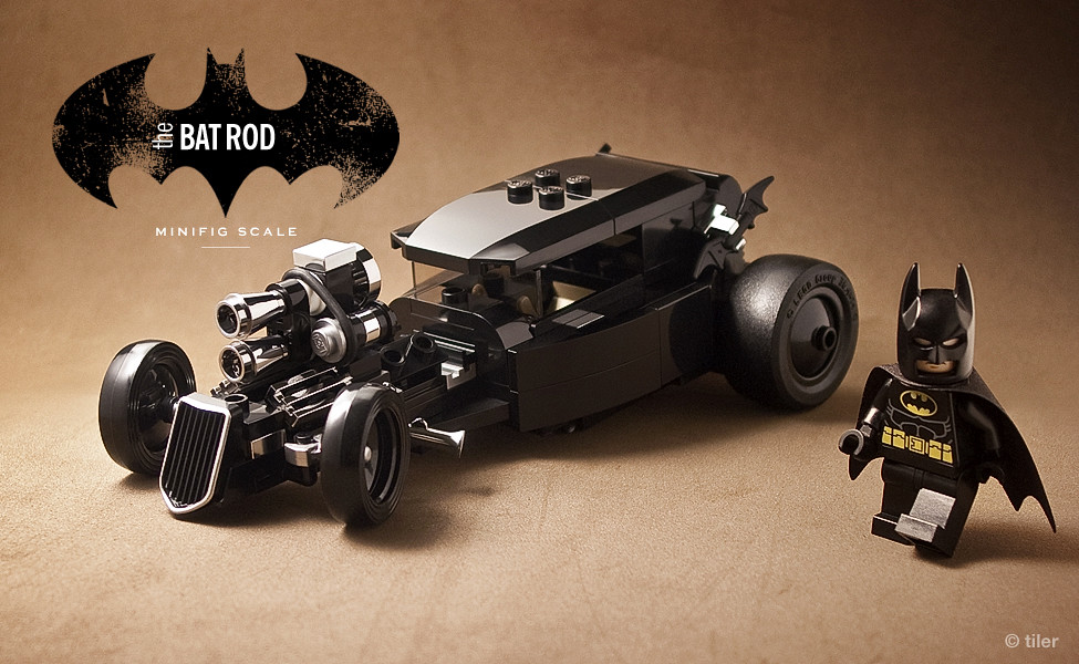 the 39 other 39 car minifig scale lego batmobile a little ha flickr. Black Bedroom Furniture Sets. Home Design Ideas