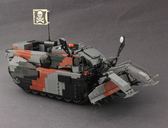 Leclerc DNG K2D by Lego Junkie.