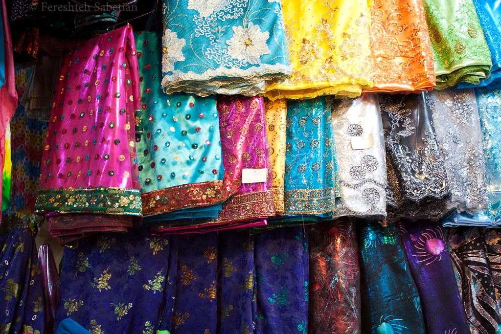 لباس عشایری پارچههای لباس عشایری   Textile used for Ashayer (Nomad's ...