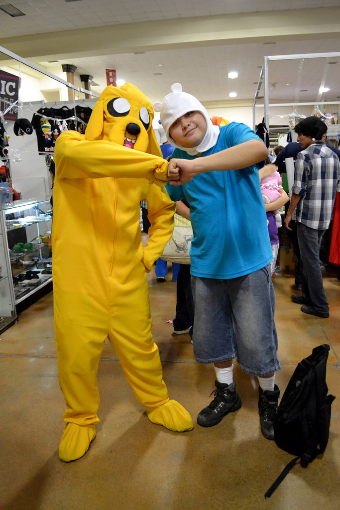COSPLAY - Jake and Finn - Adventure Time  CAF Chibi Anime F