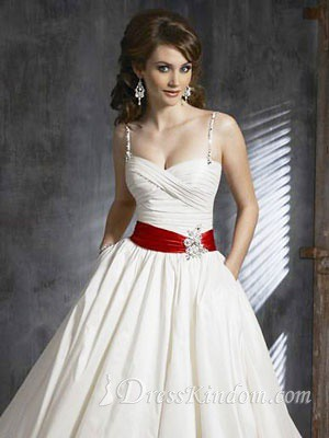 Which is christmas wedding dresses - The Red Belt Make This Elegant Wedding Dress A Little Bit Flickr