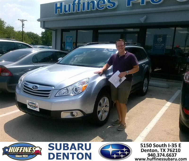 Thank You To Ben Perry On Your New 2012 Subaru Outback Fro