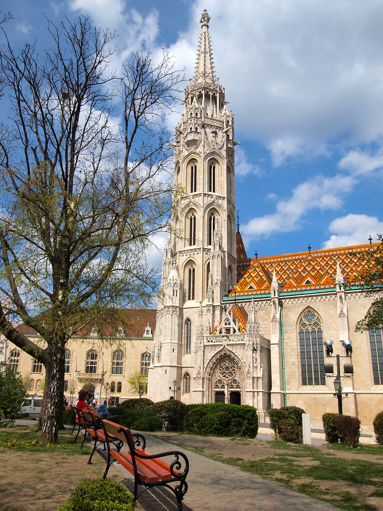 St. Matthias Church in Budapest, Hungary