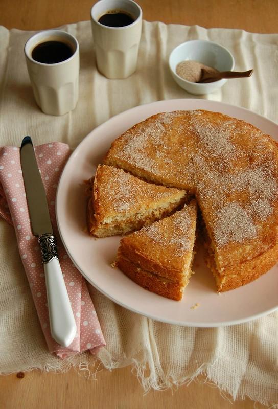 Churros cake / Bolo churros