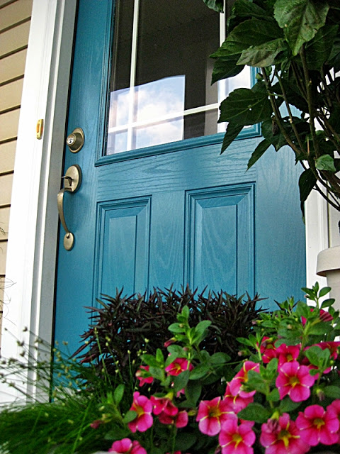 Bright Colored Doors | #LivingAfterMidnite