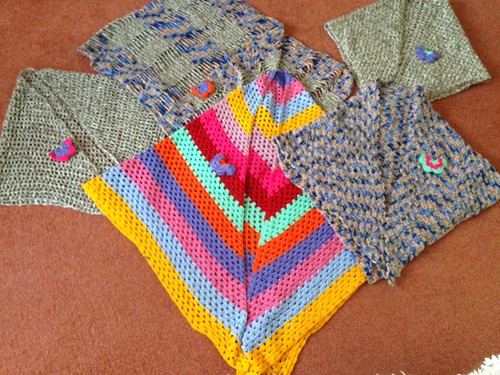 Shawls from Gill thank you