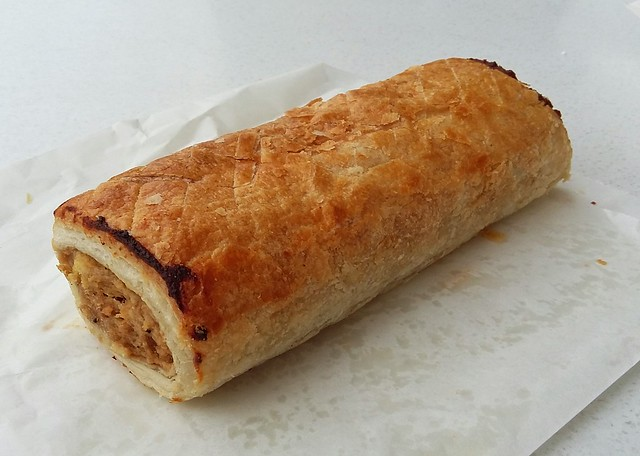 Sausage roll from Lais French hot bread and cakes.
