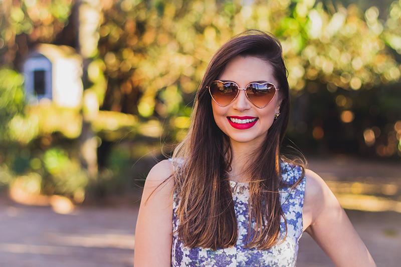 4-look do dia vestido florido com camisa jeans amarrada jana taffarel blog sempre glamour