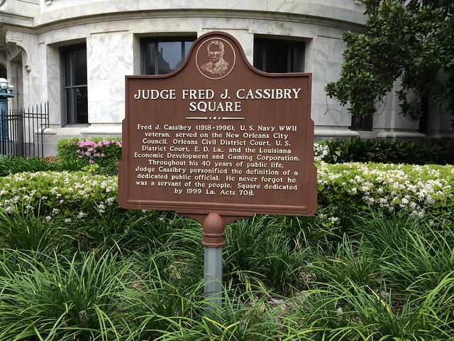 Judge Fred J. Cassibry Square
