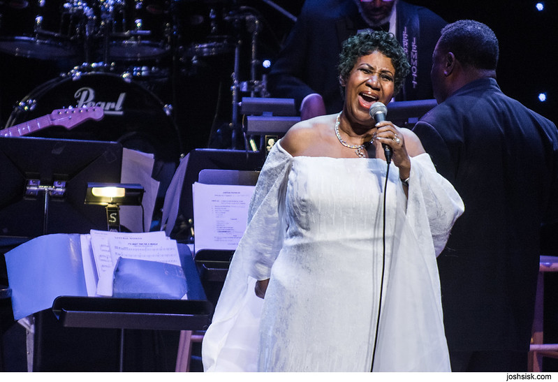 Aretha Franklin at Strathmore