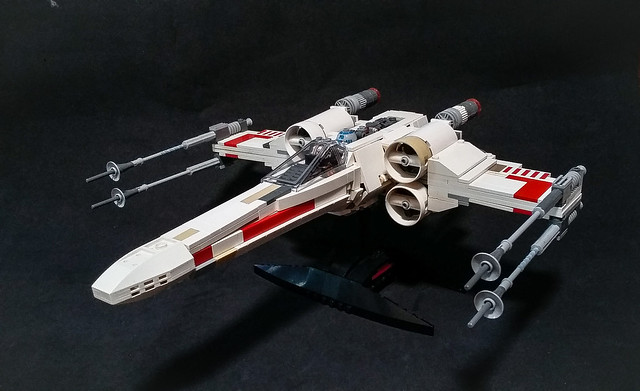 Moc Original Trilogy T 65b X Wing Lego Star Wars Eurobricks Forums