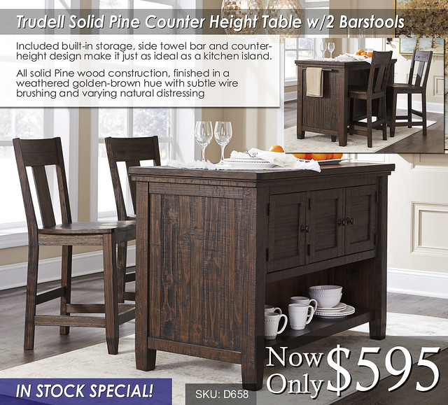 Trudell B658 Dining Counter Height