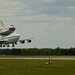 Space Shuttle Discovery Landing (201204170032HQ)