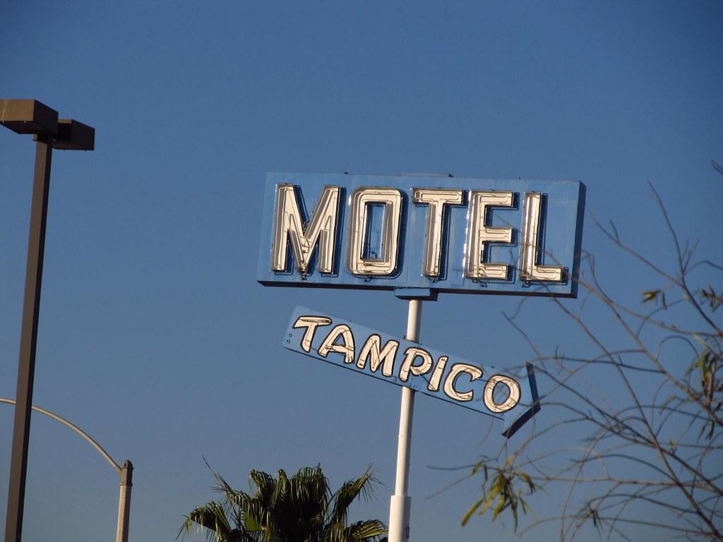 Motel  Anaheim Stadium Orange