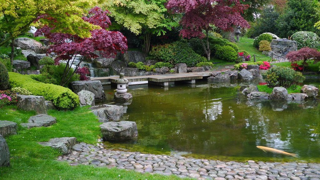 Kyoto Gardens Holland Park Royal London Borough Of Kensi