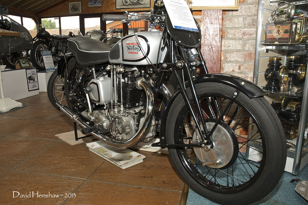1942 Bob Collier Norton - Sammy Miller Foundation Trust Museum ...