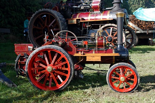 Miniature Steam tractor. | by lancef2